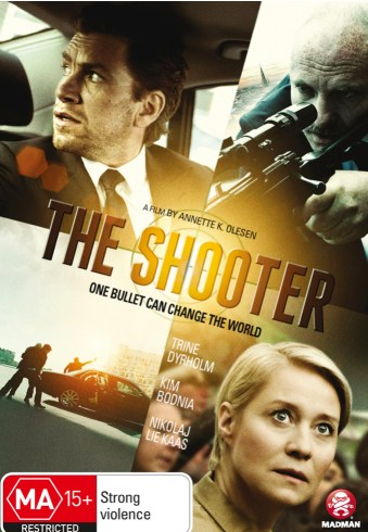 Theatrical poster for the film The Shooter