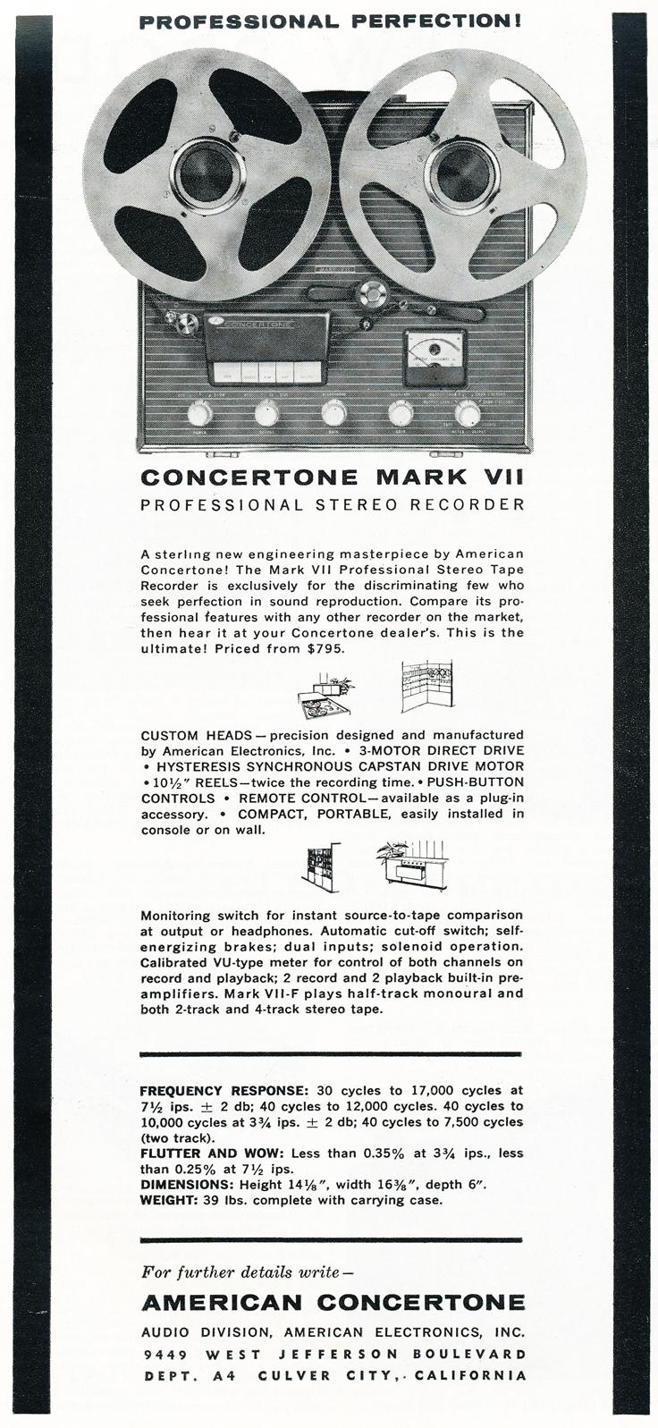 Phantom's Vintage Reel 2 Reel Tape Recorder Online Museum