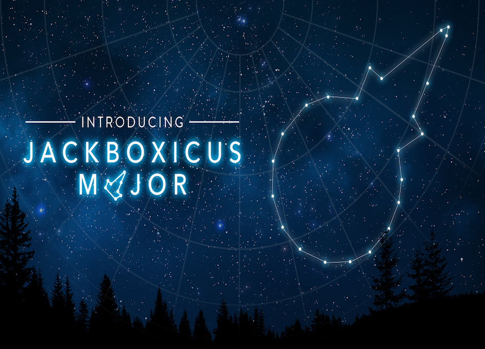 "Jack in the Box introduces constellation ""Jackboxicus Major"" for May 4"