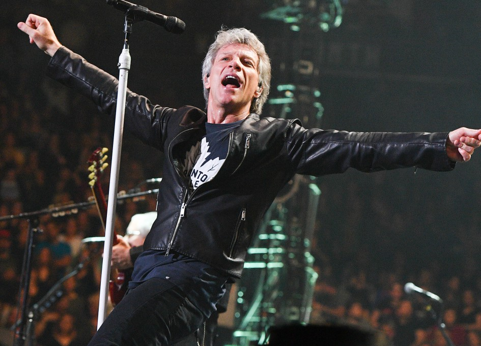 """Bon Jovi headlines 2018 """"Rock and Roll Hall of Fame Ceremony"""" on HBO"""