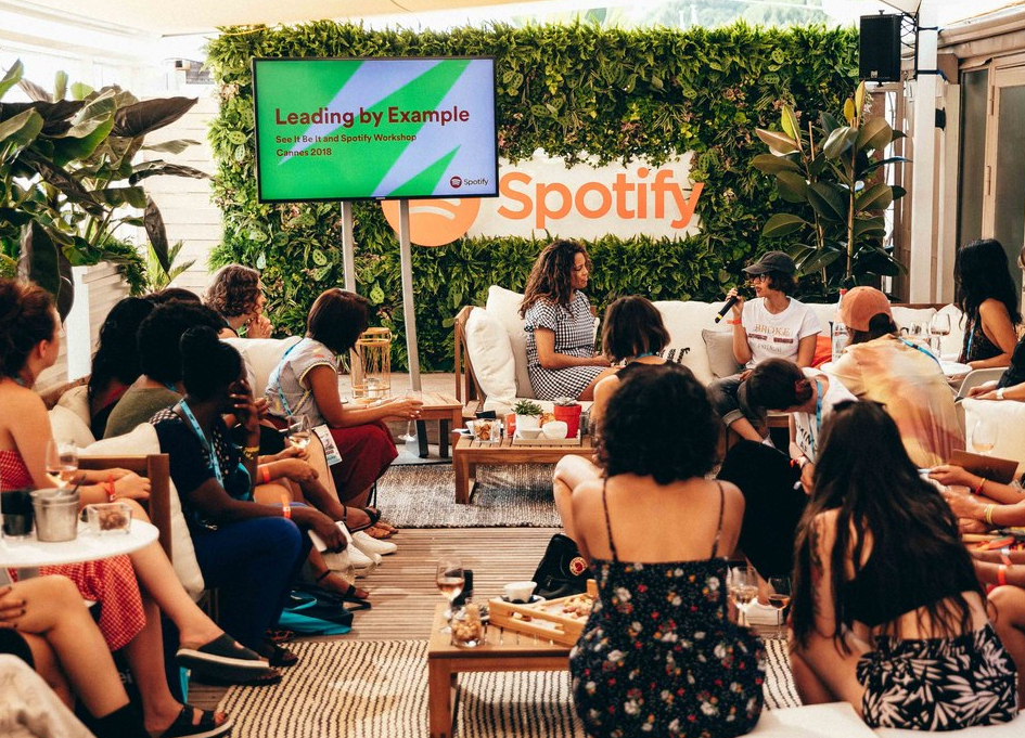 Spotify makes substantial noise at Cannes 2018