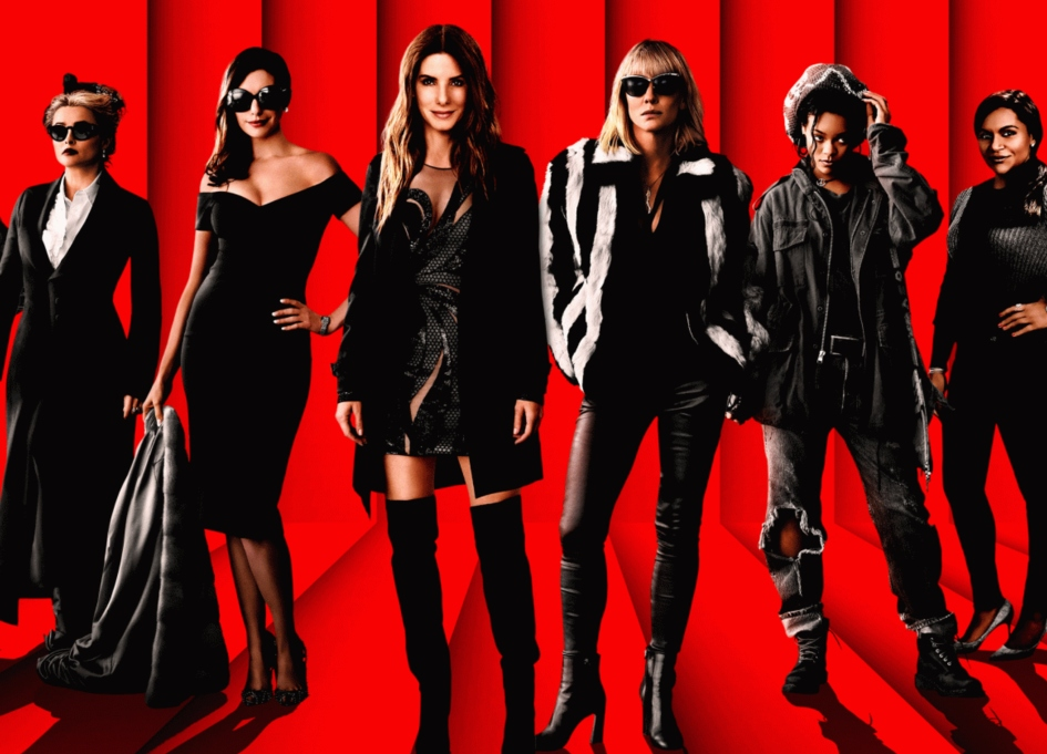 Bullock, Blanchett and Hathaway can't stop 'Ocean's 8' from sinking
