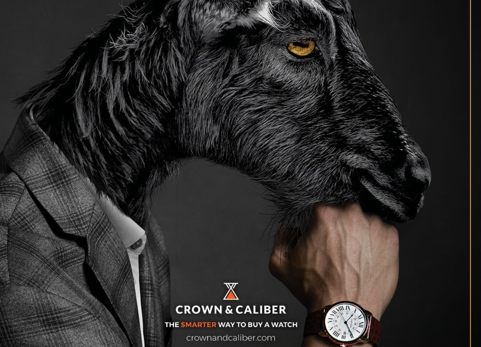 Barber Warren gets animalistic for online watch purchases
