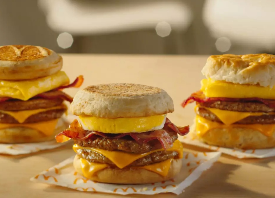 McDonald's believes a big day deserves a big breakfast