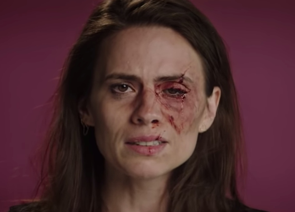 Hayley Atwell Leads Women's Aid campaign from RSA