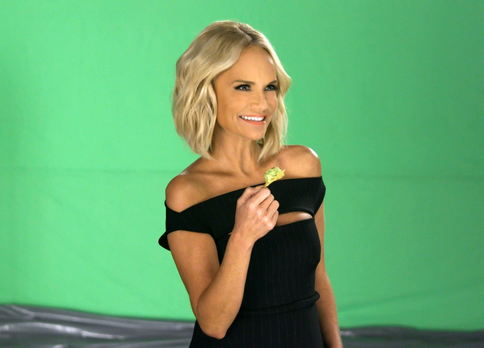 Kristin Chenoweth unleashes the dogs for Avocados spot