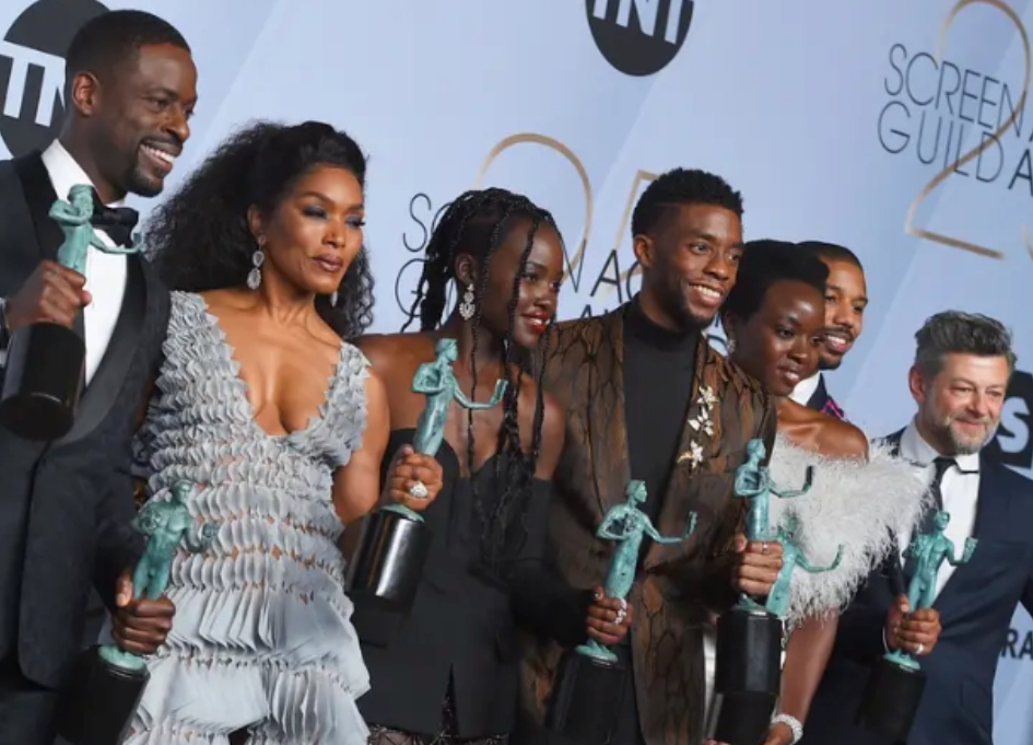 'Black Panther' stuns at 25th annual SAG Awards