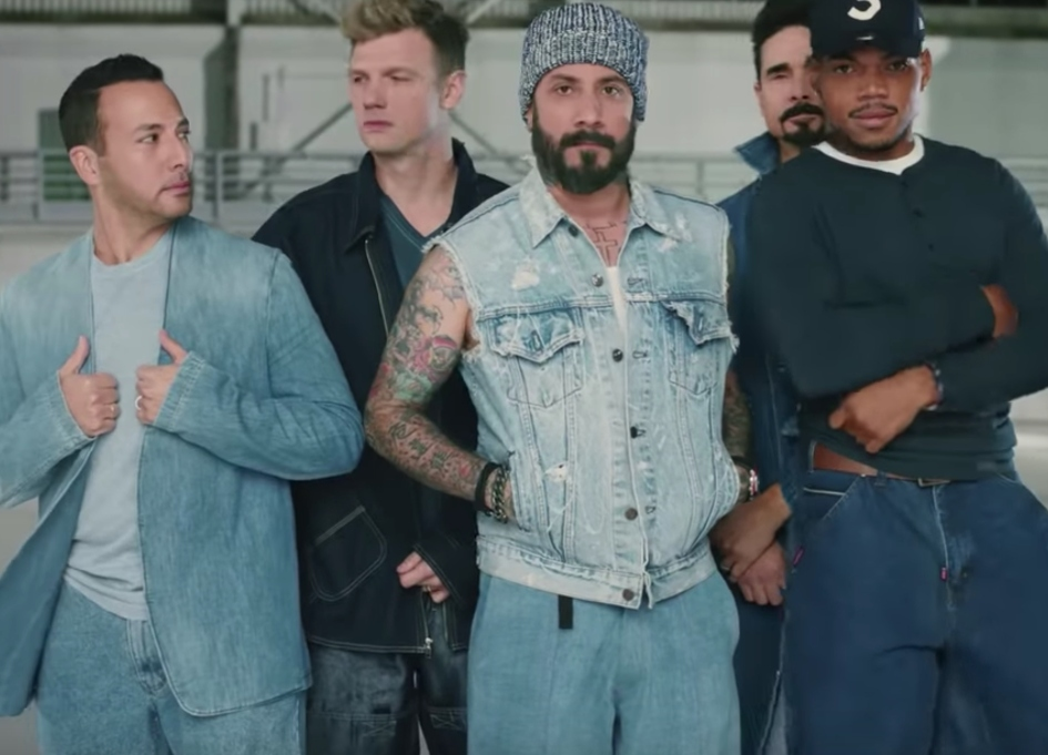 Flamin' Hot Doritos 'collabs' with Chance & Backstreet