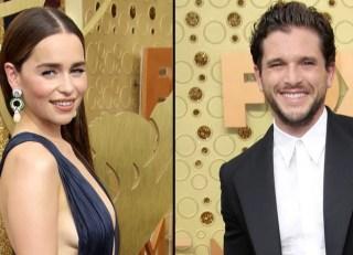 Emilia-Clarke-and-Kit-Harington-Game-of-Thrones-Slay-Red-Carpet-Emmys-2019