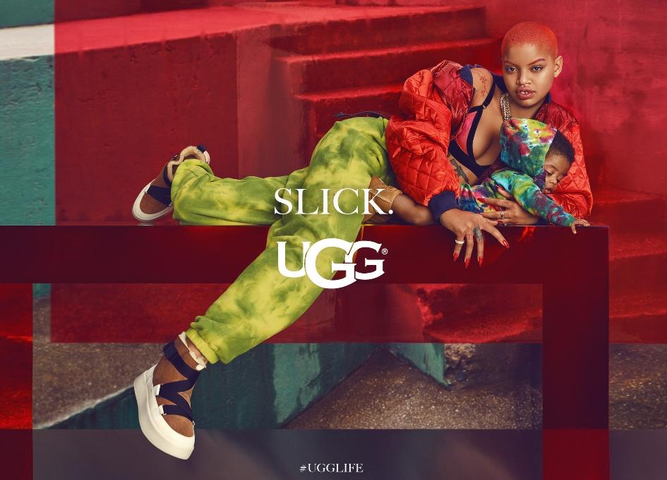 UGG asks wearers to live #UGGLIFE