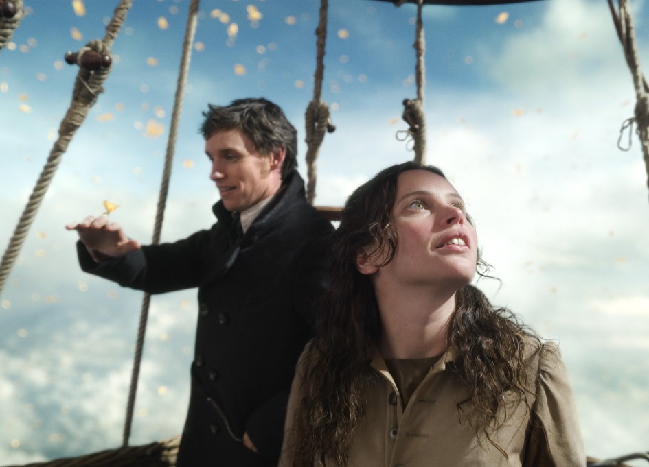 Review: Strong chemistry, epic VFX lift 'The Aeronauts'