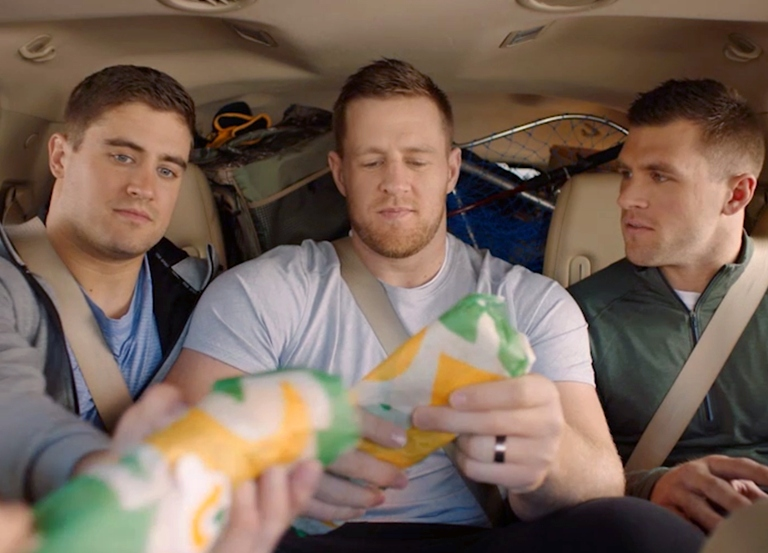 JJ Watt and bros star in new Subway campaign