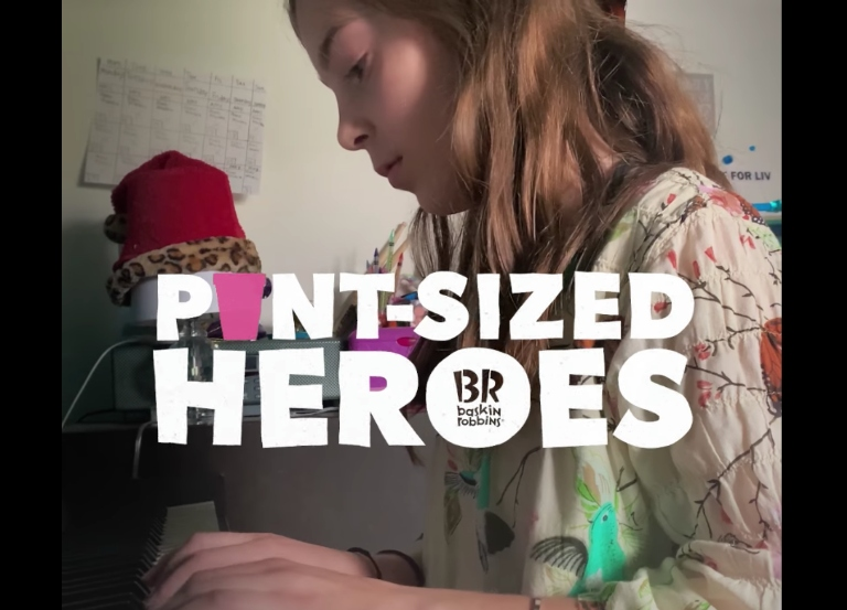 Baskin-Robbins says 'thank you' to 'Pint-Sized Heroes'