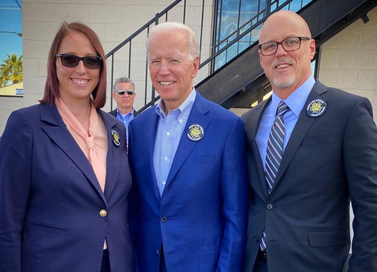 IATSE endorses Biden for President
