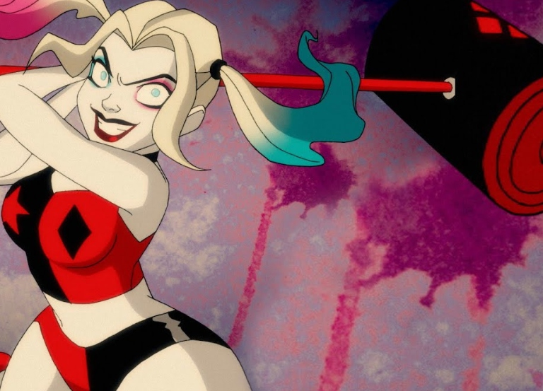 """Bring it B*tch!"" 'Harley Quinn' airs on SYFY"
