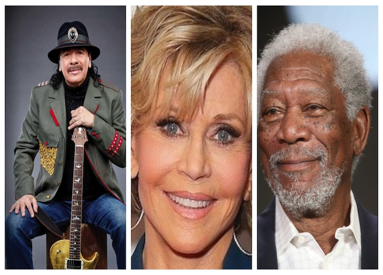 Fonda, Freeman, Santana host Artists for Amazonia