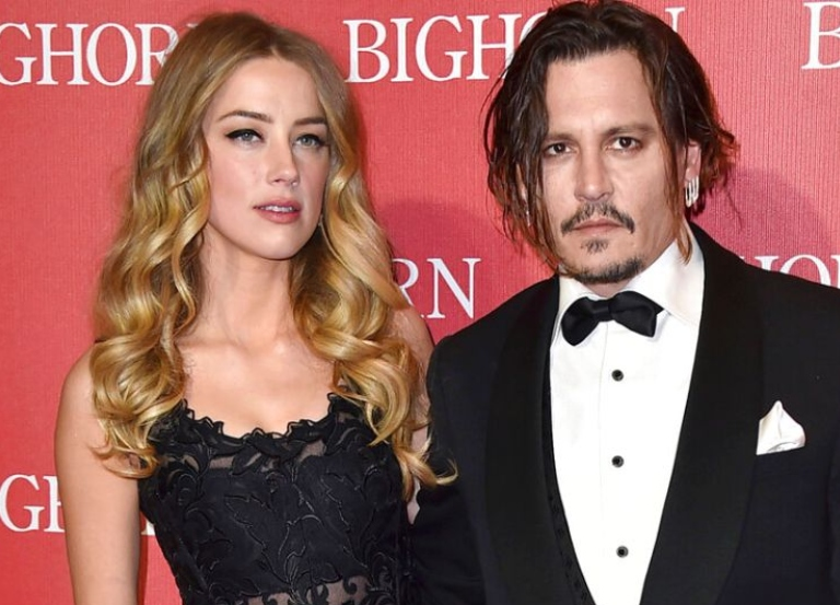 Amber Heard left 'naked, bleeding' while Depp peed