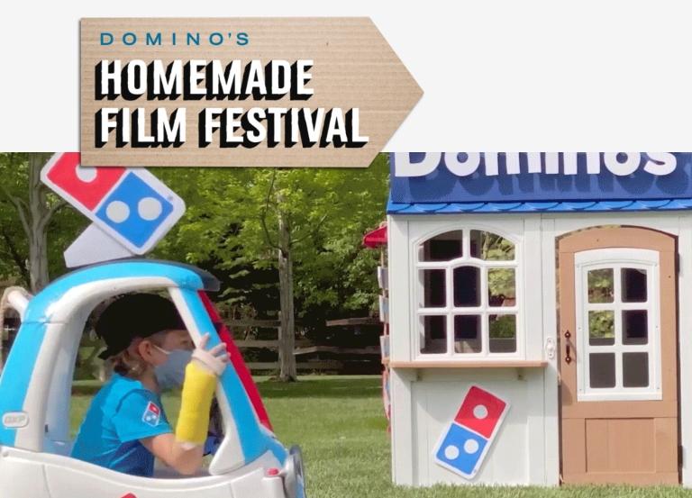 Domino's launches homemade film festival