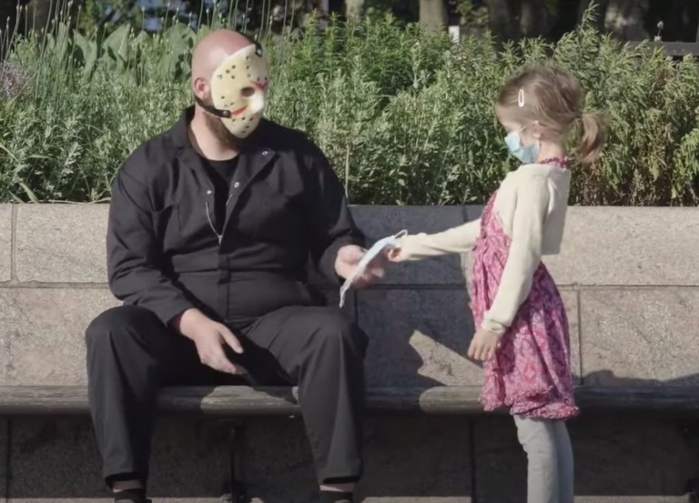 Ogilvy Health enlists Jason Voorhees for COVID-19 PSA