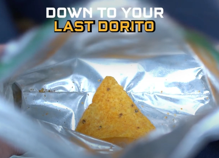 "Burnett Israel tackles the problem of ""The Last Dorito"""