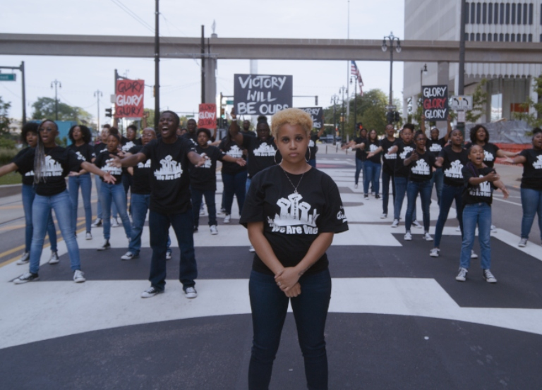 Yessian, Detroit Youth Choir go for 'Glory' in BLM