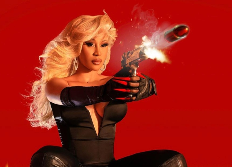 Cardi B channels her 'Barb Wire' in cosplay shoot
