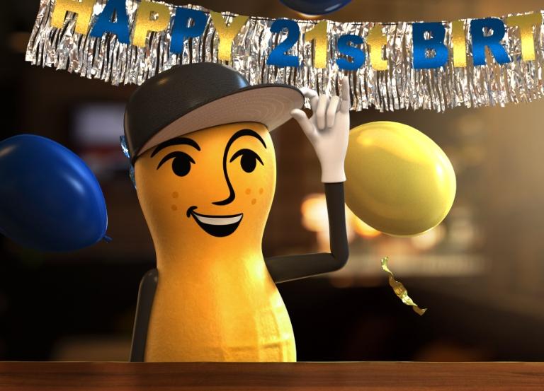 """Baby Nut """"shellabrates"""" 21st birthday"""