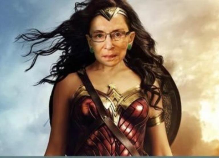 Ruth Bader-Ginsburg was the original Wonder Woman