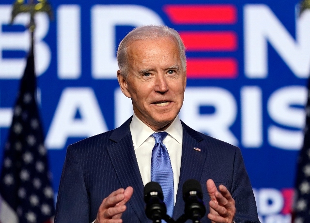 Joe Biden and Kamala Harris deliver healing speeches