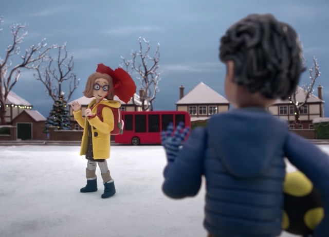 John Lewis animated holiday film is magical
