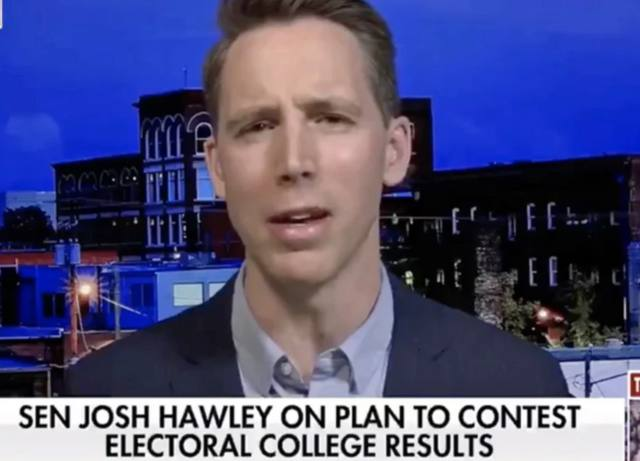 Senator Hawley squirms as Fox News host grills him