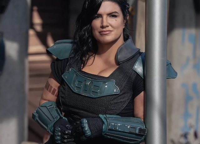 Mandalorian actress Gina Carano fired for social posts