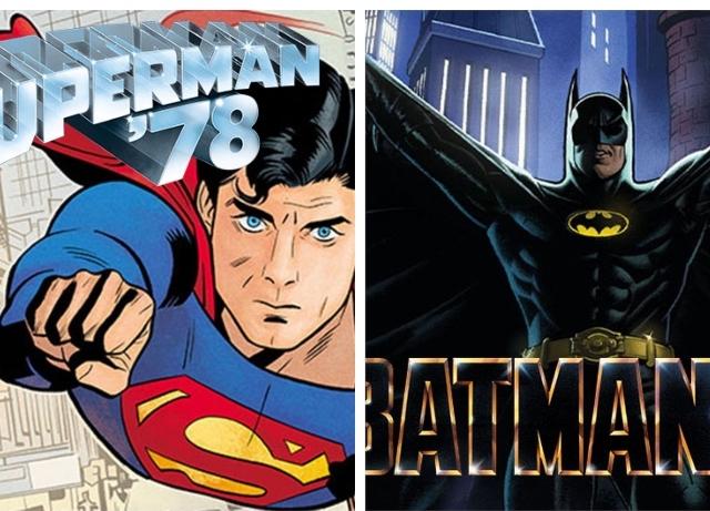 Superman '78 and Batman '89 continued in DC comics