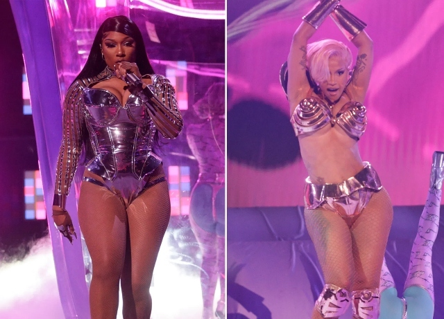 Megan Thee Stallion ripped for Grammy performance