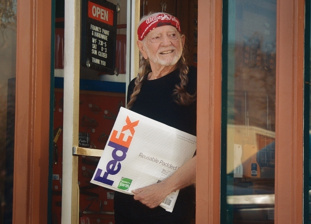 FedEx, Willie Nelson promote sustainability goals