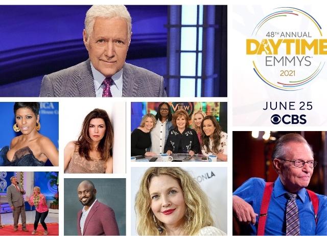 Daytime Emmys: Trebek, King receive nominations