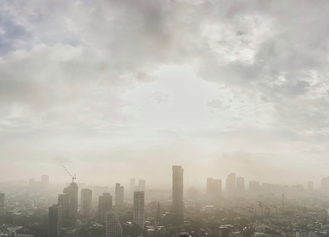 Pollution helps patients breathe better for first time