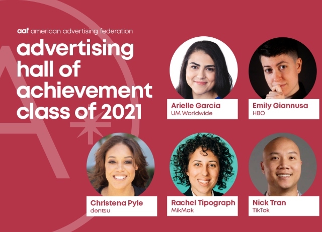 AAF: Under 40 honorees for 29th annual event