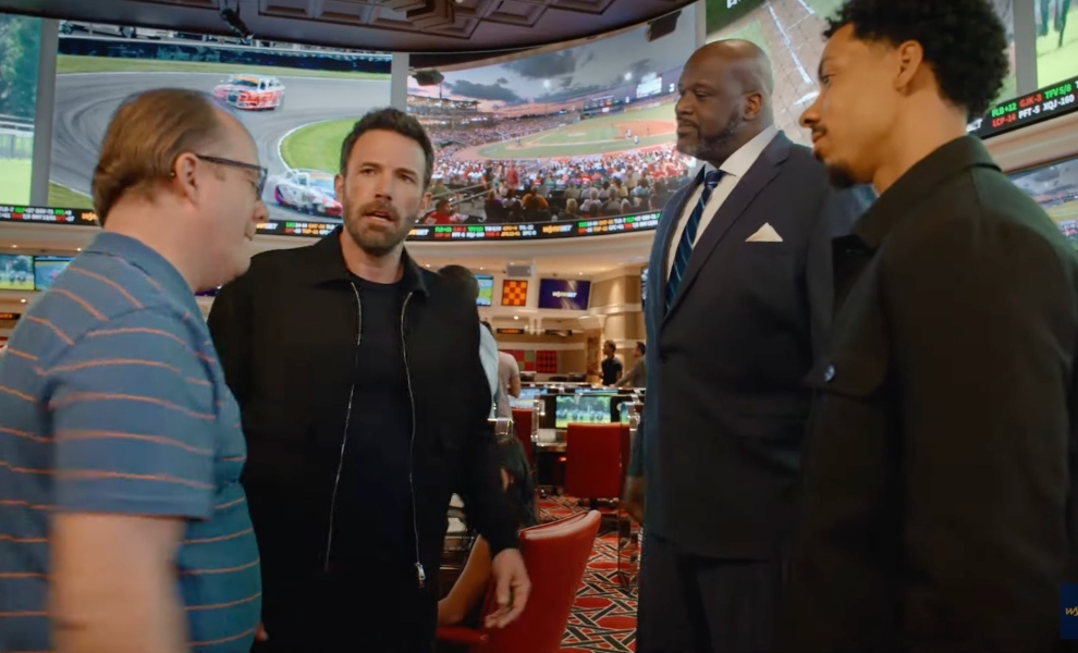 Ben Affleck directs and stars alongside Shaq in WynnBET campaign