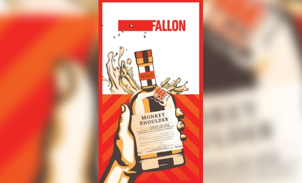 Monkey Shoulder Whisky orders a round of Fallon