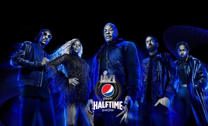 Dr. Dre, Snoop, Eminem, Mary J., Kendrick Lamar for Pepsi's Halftime show
