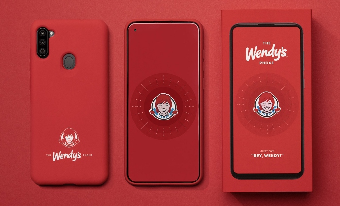 Wendy's new smartphone even comes with an assistant on the side