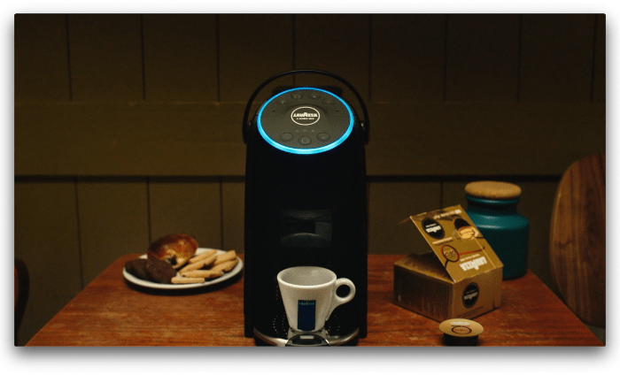 Up for coffee talk? Lavazza introduces coffee machine with Alexa