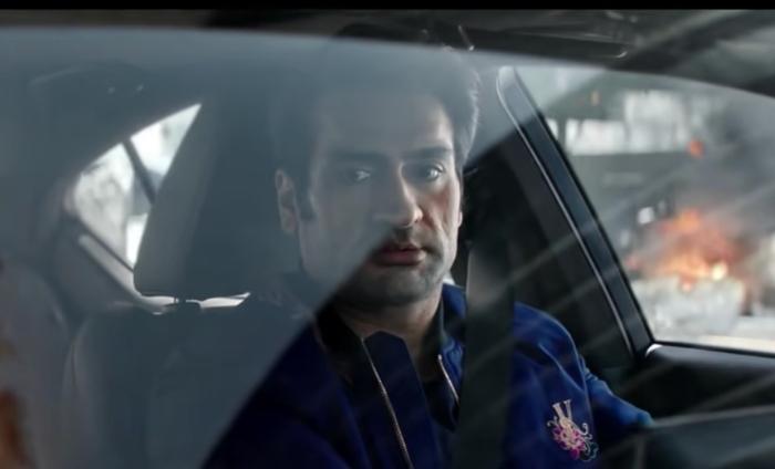 Eternals: Kumail Nanjiani tries to park his Lexus in spot directed by Russos