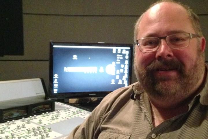 Sound designer Bob Benson gets into the mix at ARU