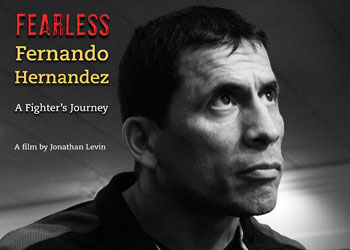 Videographer produced inspirational doc about fighter