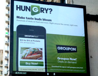 Groupon's first in-house ads disappointingly mundane