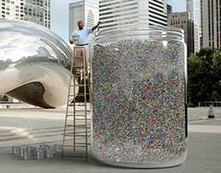 New BBDO Lottery spot involves giant jar of marbles