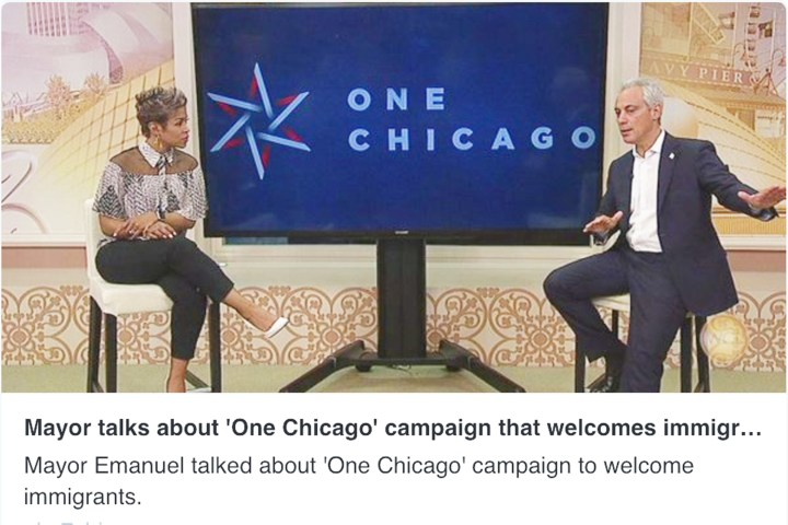 Ogilvy promotes sanctuary status with #ChicagoIsOne