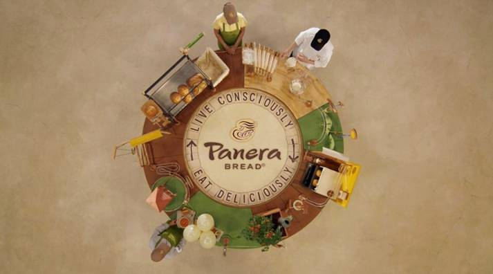 Delicious art and craft in C-K's Panera Bread spot